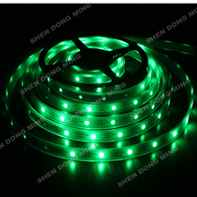 50m/lot Tube Waterproof Digital RGB LED Pixel Strip Light , DC 5V 30IC WS2812B led strip Magic Color Changeable neon tape