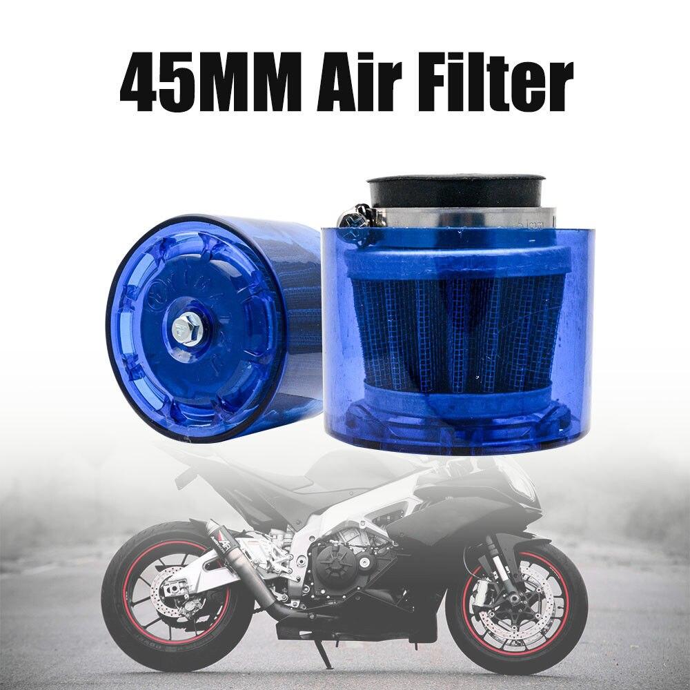 4 Pack Adjustable 54mm Air Filter Cleaner Intake Cold Pit Bike ATV Motorbikes