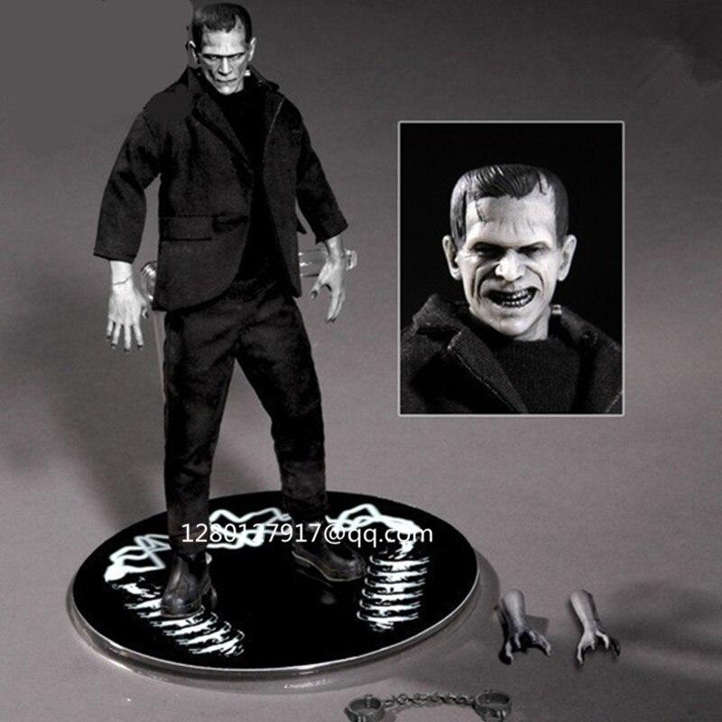 6 pouces Frankenstein-l'histoire du moderne prométhée terroriste monstre tissu Version 1:12 figurine jouet P103