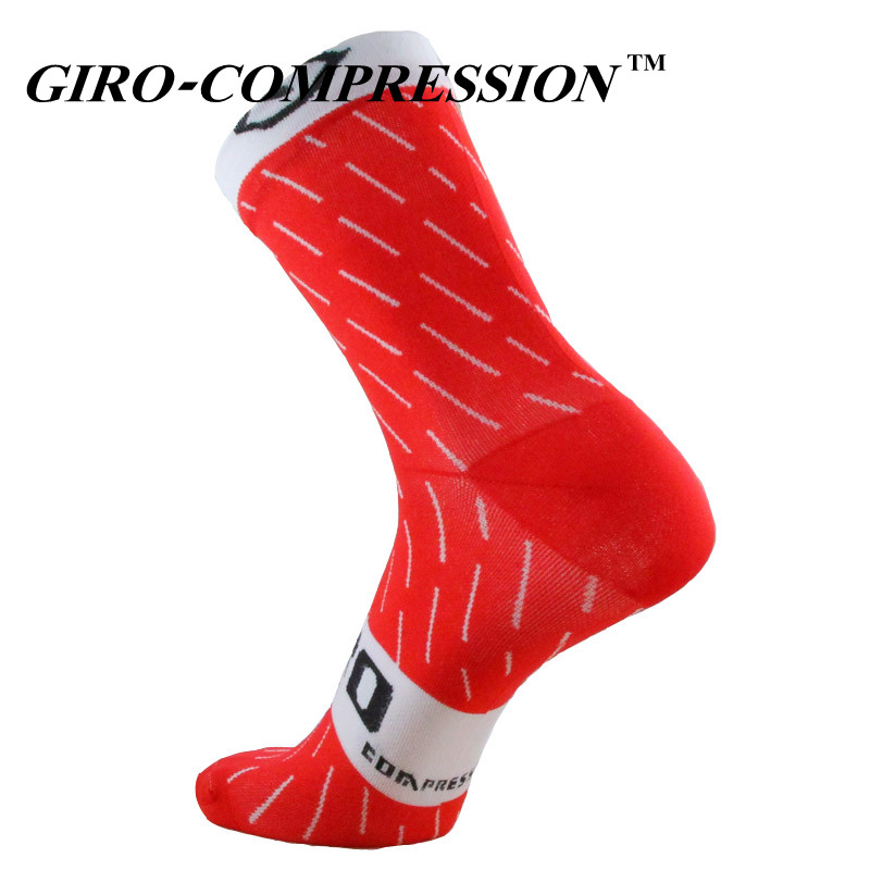 2018 Professional Brand Sport Socks Breathable Road Bicycle Socks Outdoor Sports Racing Cycling Socks Compression Socks