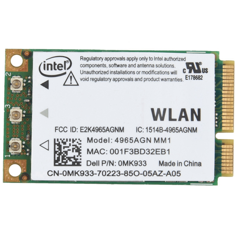 US $1 98 17% OFF|New Wifi Wireless Card 4965AGN MM1 for Dell Latitude D520  D530 D630 D820-in Network Cards from Computer & Office on Aliexpress com |