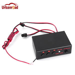 Urbanroad 1Pcs 12V Car LED DRL Controller Daytime Running Light Lamp DRL Auto On/Off Switch Controller for Auto Car Accessories(China)