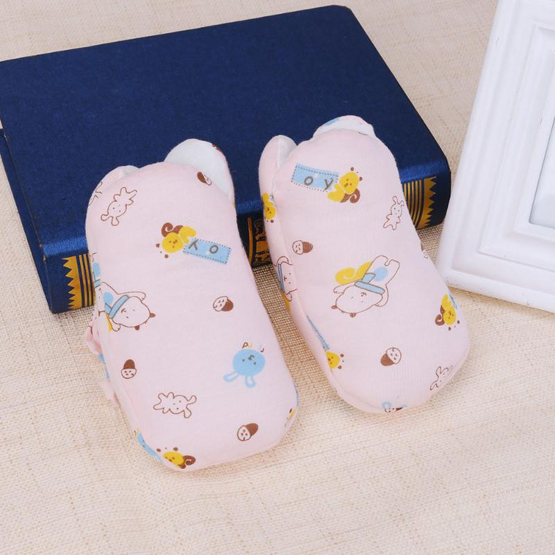 Baby Crib Shoes Infant Winter Warm Shoes Toddler Cartoon Printed Cotton Soft Sole Indoor Floor Shoes Socks Non Slip First Walker