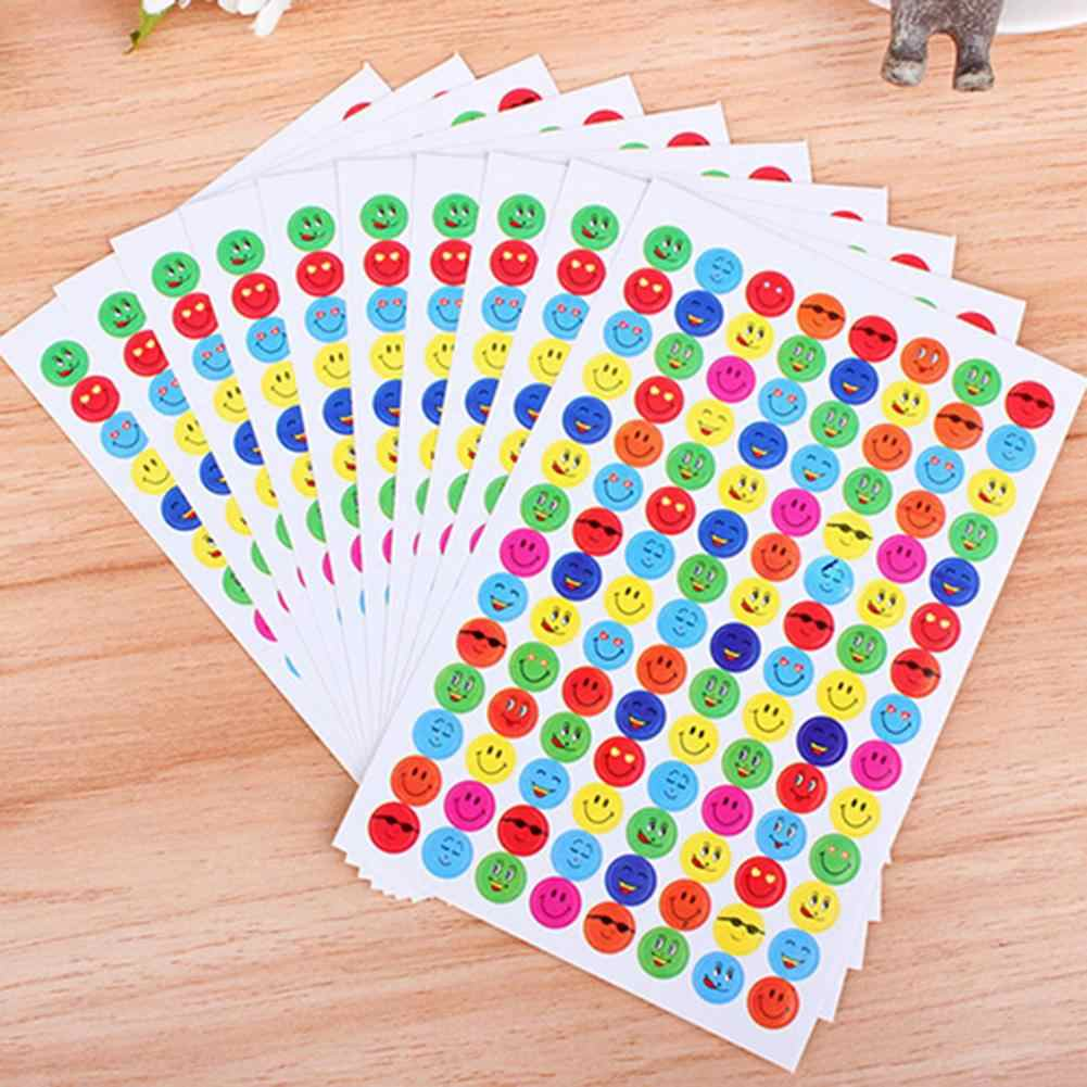 Fashion 1120Pcs Reward Smile Love Heart School Teacher Praise Stickers Children Face