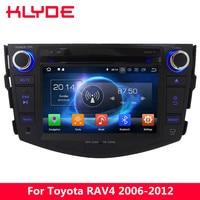 KLYDE 4G Восьмиядерный 4G B Оперативная память 32 ГБ Встроенная память Android 8,0 7,1 DVD мультимедиа плеер для Toyota RAV4 2006 2007 2008 2009 2010 2011 2012