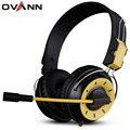 Ovann X10 Game Headphone Earphone Wired Headphone 7.1 Surround Sound channel with Mic for PC computer gamer  Noise Cancelling
