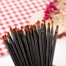 50Pcs Makeup eyebrow Eyelash Cosmetic Beauty Tool Disposable Lip Brush Gloss Wands Applicator