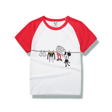 Baby Boy T-shirt Children Short Sleeve Tshirts cartoon New Summer T-shirt Kid Boy Cotton T-shirt Summer Tshirts