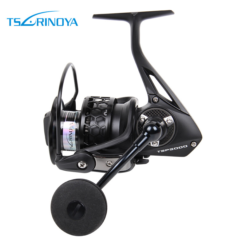 TSURINOYA Spinning Fishing Reel Full Metal 12 Ball Bearing Max Drag 12kg Reel SPIRIT TSP5000 Moulinet de peche carrete de pesca тюбинг hubster хайп розовый 105 во4287 2