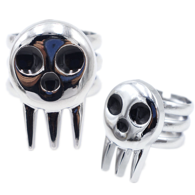 Anime Soul Eater Death The Kid Cosplay Costumes Ring Props