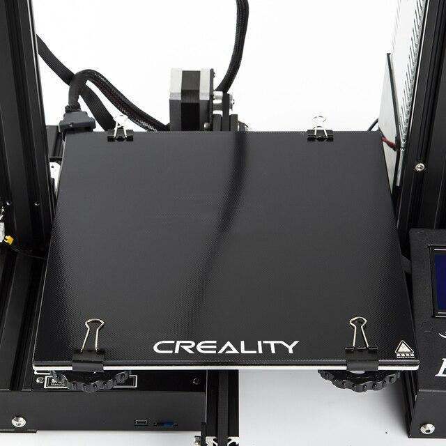 Creality 3D Ender3 толщиной 4 мм Ultrabase самоклеющиеся сборки поверхности стекло пластины 235x235 мм для Ender-3 3d принтеры стекло