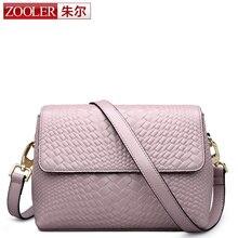 ZOOLER bolso de cuero genuino bolsos de las mujeres famosas de la marca bolsa de mensajero para la señora cruz cuerpo VIP especial 0 sin fines de lucro #6152
