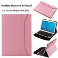 For Huawei Mediapad M2 10.0 case Wireless Bluetooth Aluminum Keyboard Case For huawei M2-A01L M2-A01M M2-A01W cover + Gift