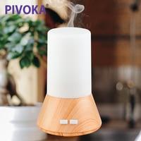 PIVOKA USB Electric LED Ultrasonic Aroma Bluetooth Music Player Humidifier Air Diffuseur Huile Essentiel Mist Maker