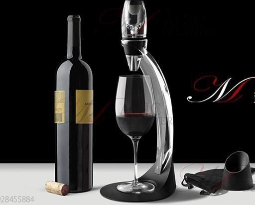 Gift Set Magic Decanter Red Wine Aerator Essential With Bag Hopper And Filter - FREE DELIVERY