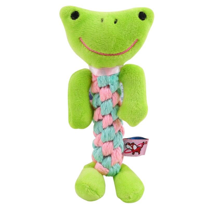 1 шт., устойчивые к укусам жевательные Игрушки для маленьких собак, чистящие зубы, веревка для щенка, шарик с узлом, игрушка, игра в животных, игрушки для домашних животных-2