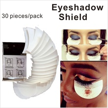30 pieces/pack Disposable Eyeshadow Shield Eye Shadow Makeup