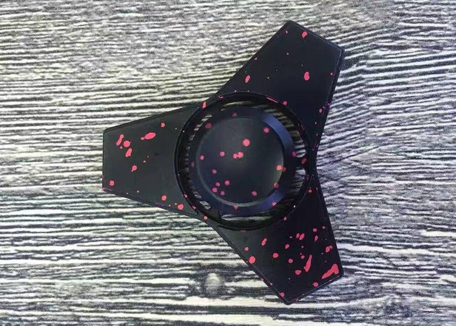 New fidget spinner metal anti stress Finger Spinner Aluminum alloy Relieve Stress  hand Spinner