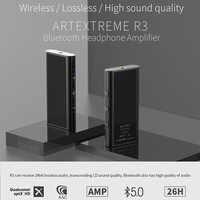 Artextreme R3 amplificateur de casque Portable sans fil bluetooth 5.0 CSR8675 HiFi amplificateur Audio CNC métal