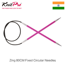 Knitpro Zing 80 cm Fixed Circular Needle 2.0mm-6.0mm
