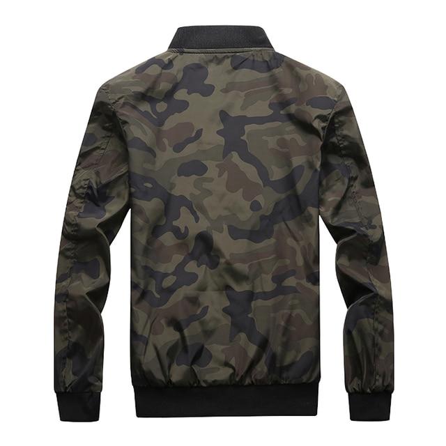 M-7XL 2019 New Autumn Men's Camouflage Jackets Male Coats Camo Bomber Jacket Mens Brand Clothing Outwear Plus Size M-7XL 3