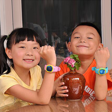 SOS Emergency Anti Lost GPS Tracker Watch For Kids with Wifi GSM Smart Mobile Phone App Bracelet Wristband