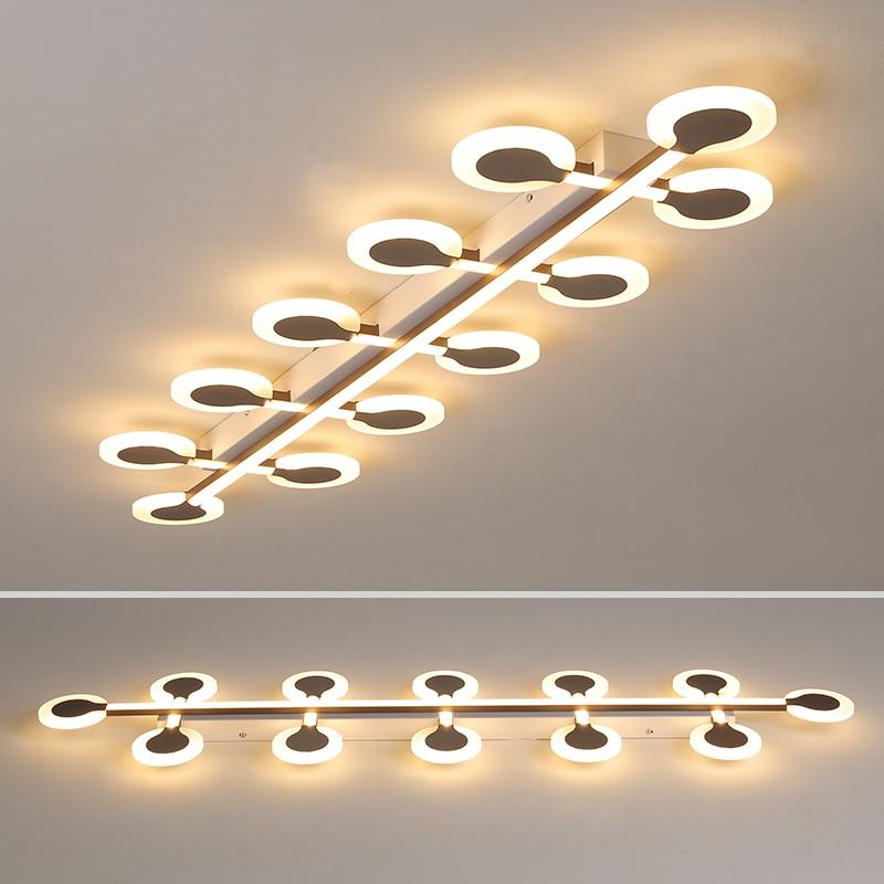 Creative led chandeliers Ceiling For livingroom office aisle modern chandelier Nordic Chandelier lighting lustre para sala in Chandeliers from Lights Lighting