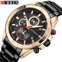 Mens Watches CURREN Top Brand Luxury Quartz Watch Fashion Casual Business Watch Male Wristwatches Quartz Watch