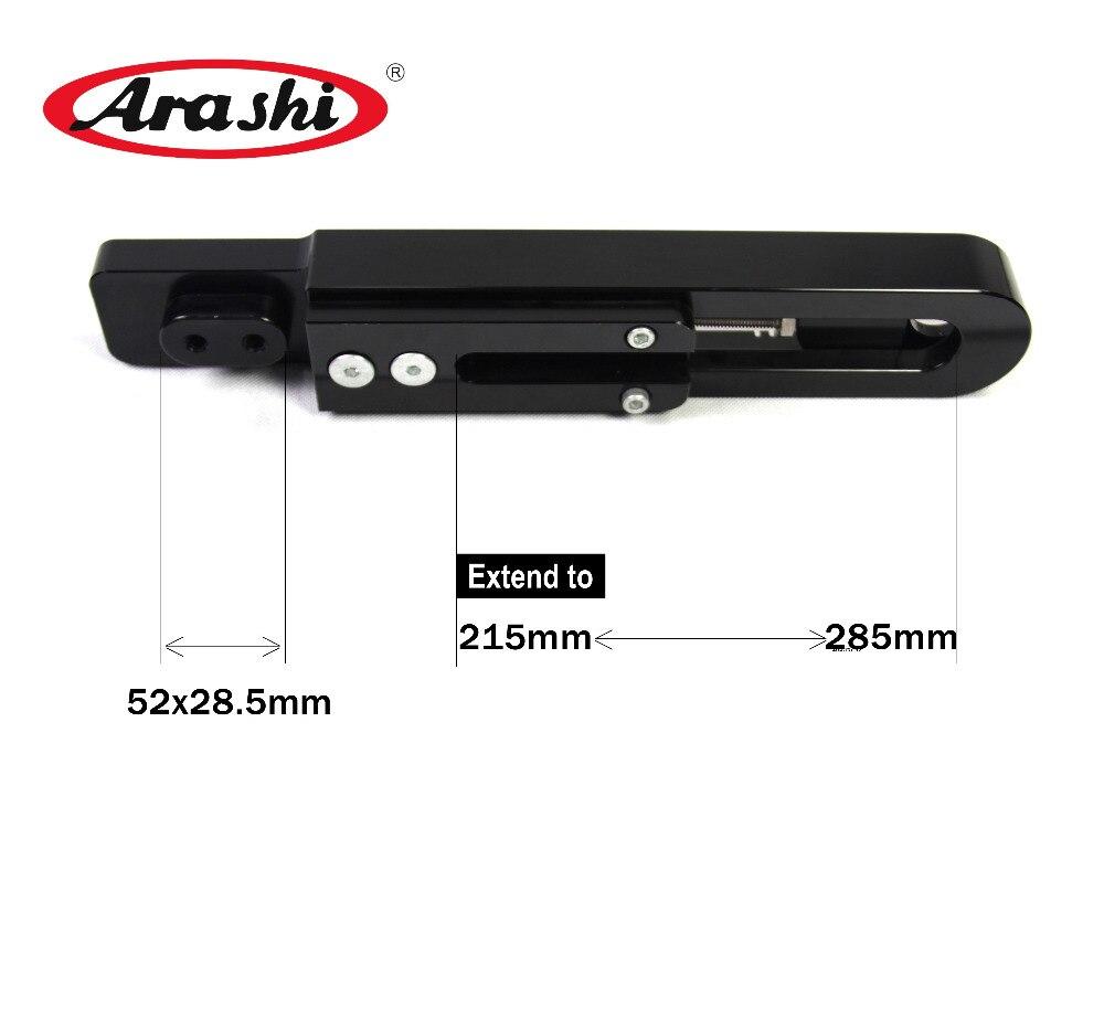 Arashi Extension Kit For SUZUKI GSXR1300 1999 2007 Gen1 Swingarm Extended Swing Arm HAYABUSA GSX1300R 99
