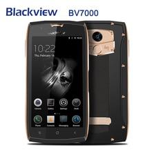 Blackview BV7000 Android 7,0 4G LTE мобильный телефон 5,0 дюймов MT6737T четырехъядерный мобильный телефон 2 Гб + 16 Гб отпечатков пальцев оригинальный смартфон