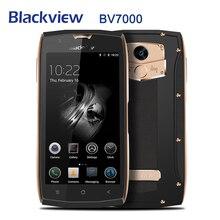 Blackview BV7000 Android 7.0 4G LTE Cellulare 5.0 Pollici MT6737T Quad Core Mobile Phone 2GB + 16GB di impronte digitali Smartphone Originale