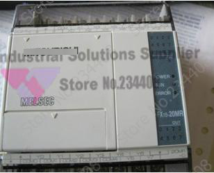 New Original 12 DI 8 DO Relay Output FX1S-20MR-D PLC Programmable Logic Controller 24V Base Unit new original fx1s 20mr plc programmable logic controller module