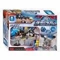 HOT jurassic dinosauro del mondo lab base building blocks imposta jurassic park giocattoli dei mattoni compatibile con