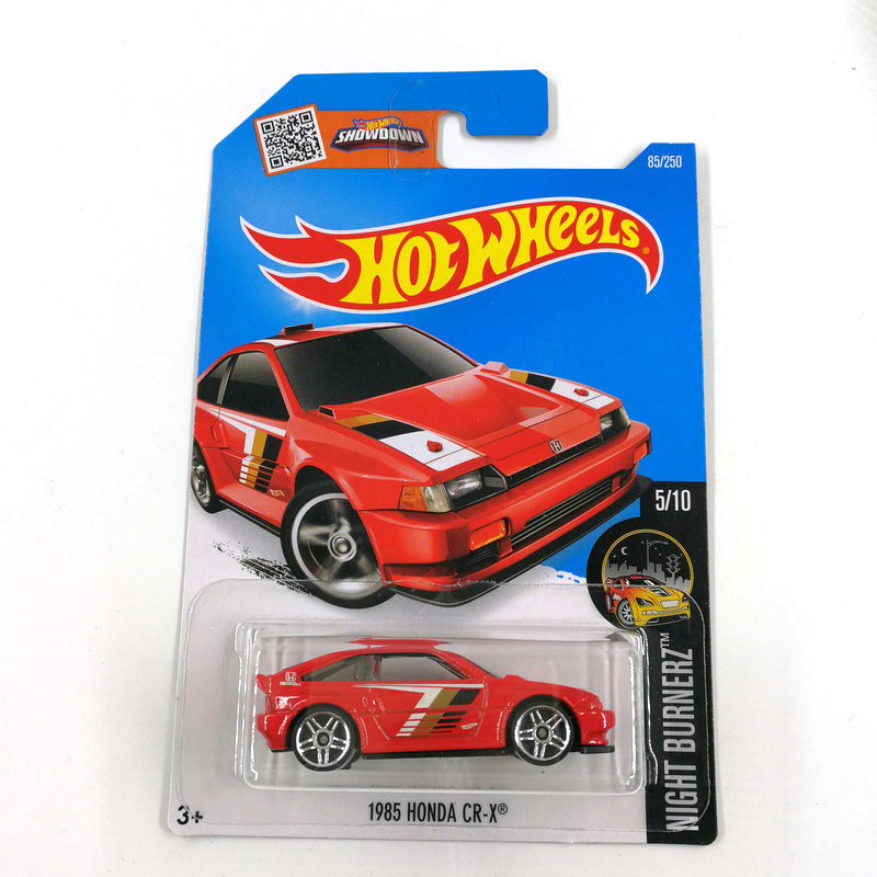 2016 Hot Wheels 1:64 Car 1985 HONDA CR-X Collector Edition Metal Diecast Cars Collection Kids Toys Vehicle For Gift