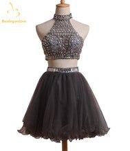 Платье с лямкой на шее bealegantom Короткие мини платья а силуэта