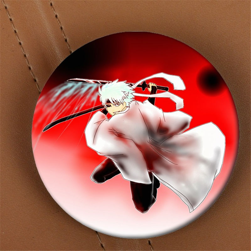 Youpop GINTAMA Anime Brooch Pin Badge Accessories For Clothes Hat Backpack Decoration HZ1506
