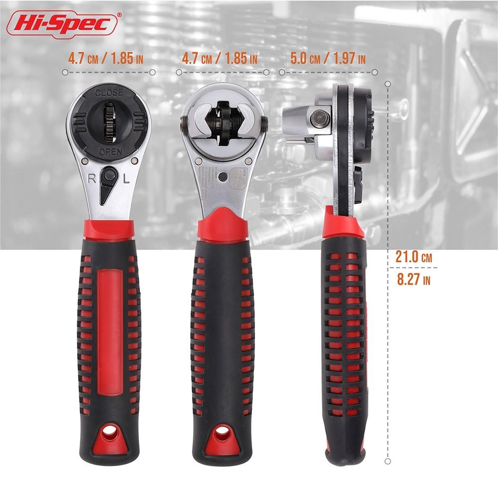 7-1 【Best Deals】23 In 1 Stainless Steel Multifunctional Flexible Wrench
