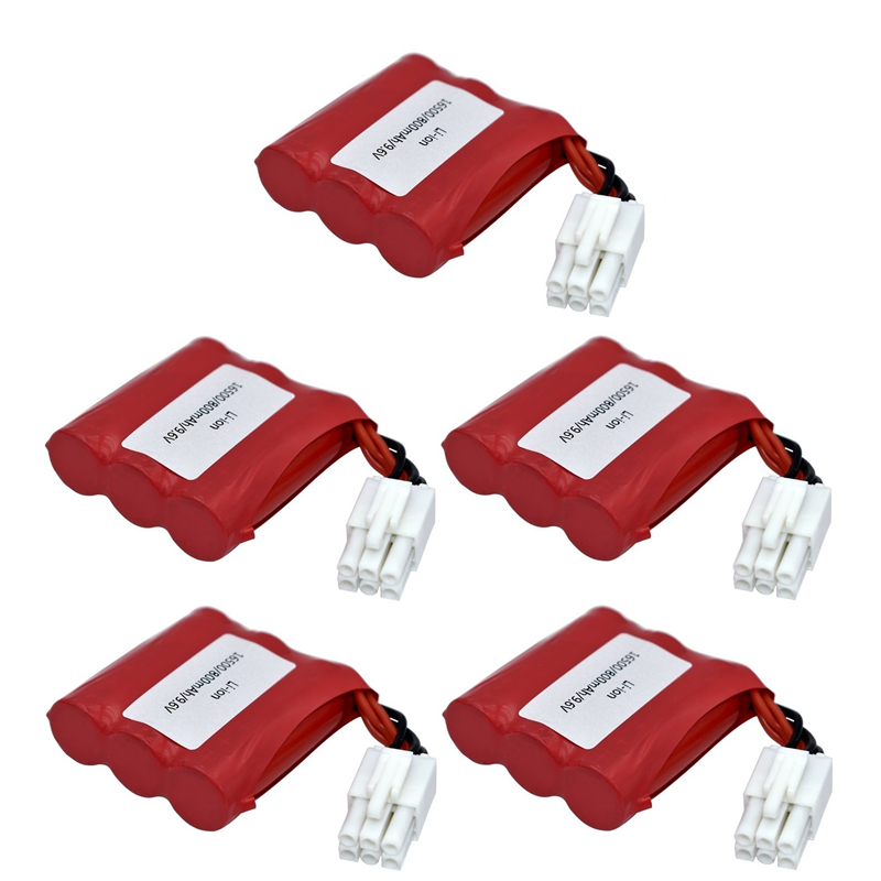 9116 New Models 800mAh 9.6V Li-ion <font><b>battery</b></font> for <font><b>9115</b></font> 9116 S911 S912 <font><b>RC</b></font> Truck <font><b>RC</b></font> car <font><b>battery</b></font> 9.6v Rechargeable <font><b>battery</b></font> 5pcs/sets image