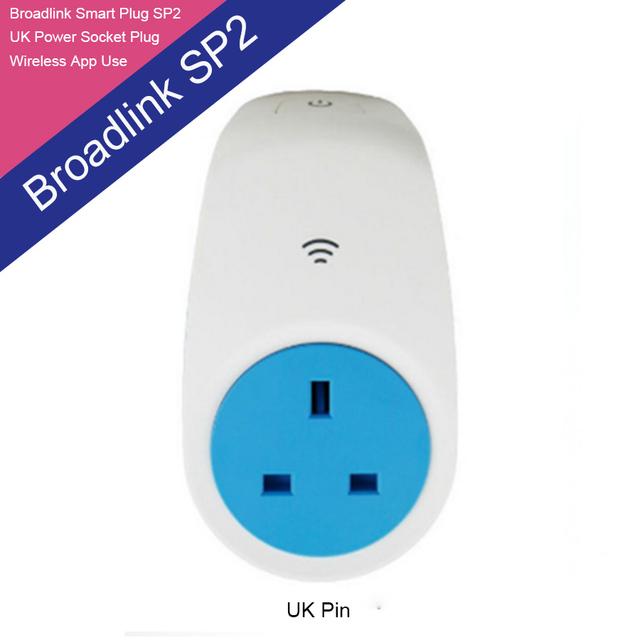 2016 BroadLink SP2 UK Enchufe del Zócalo para el Inteligente Sistema Domótico de Control Remoto Wi-Fi por wifi/ir/RFfor IOS Android