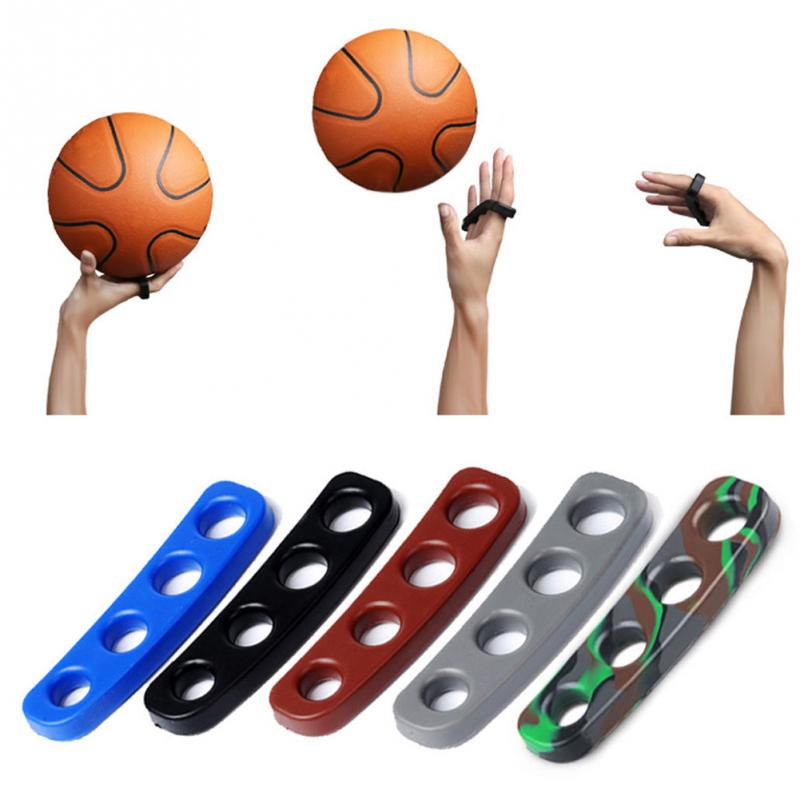 Silicone Shot Lock Basketball Ball Shooting Trainer Training Three-Point Size S/M/L for Kids Adult Man Teens Sport Accessories