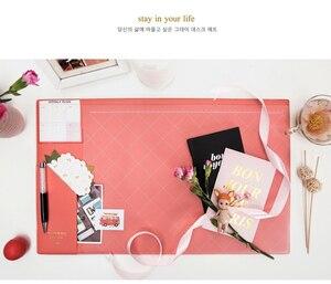 Image 3 - 2017 2018 Kalender Korea Kawaii Candy Kleur Office Desktop Tafel Mat Multifunctionele Wekelijkse Planner Organizer Houder Bureau Levert