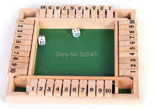 New wooden toy Surrounded flop puzzle board game Free shipping