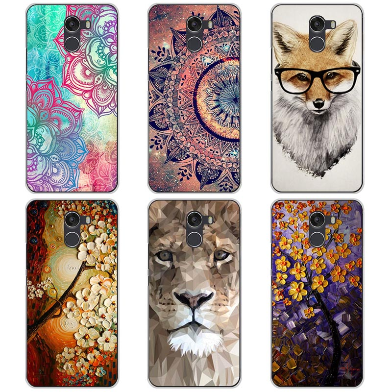 REDTOWN For Wileyfox Swift 2X Case Cover 5.2 Inch Painted TPU Soft Silicone Phone Case For Wileyfox Swift 2X 2 X Funda Coque