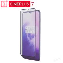 Original Oneplus 7 3D Tempered Glass Screen Protector Full Cover Perfect Fit Curved Edge Super Hard 9H Oleophobic Coating
