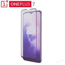 Originele Oneplus 7 3D Gehard Glas Screen Protector Volledige Cover Perfect Fit Gebogen Rand Super Hard 9 H Oleophobic Coating