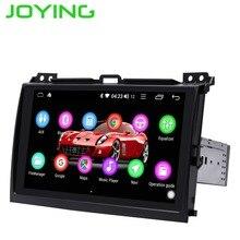 Android 8.1 single din รถวิทยุ 2GB Octa Core GPS สเตอริโอ audio player สำหรับ Toyota Land Cruiser Prado (120) lexus GX470 2004 2009