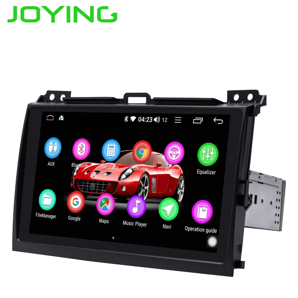 Android 8.1 single din car radio 2GB Octa Core GPS stereo audio player for <font><b>Toyota</b></font> Land Cruiser <font><b>Prado</b></font>(<font><b>120</b></font>) Lexus GX470 2004-2009 image