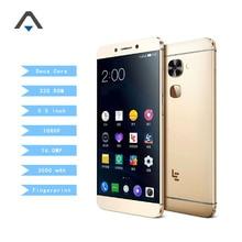 D'origine leeco letv s3 x622 smartphone Helio X20 2.3 GHz Deca Core 3G RAM 32G ROM 5.5 pouce 3000 mah 1080 P FHD 16MP D'empreintes Digitales ID