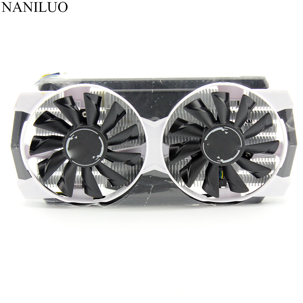 New Original For MSI GeForce GTX 950 2GD5T OC GTX950 Radiator Fan Graphics Card Cooler With Light Fan With Heatsink