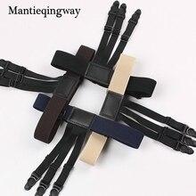 ФОТО mantieqingway 1 pair men's suspensorio shirt holders for men tirantes hombre ajustables jartiyer elastic garter belt for shirts
